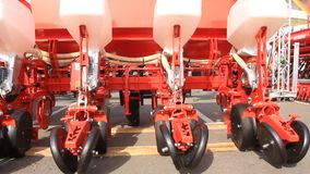 Agricultural machinery stock video