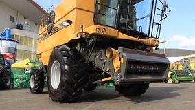 Agricultural machinery stock video footage
