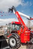 Agricultural machinery exhibition. Tyumen. Russia Royalty Free Stock Photo