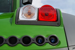 Agricultural machinery headlight royalty free stock photo
