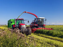 Agricultural machinery. Preparation of forages, harvesting Stock Image