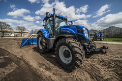 Agricultural machinery Stock Image