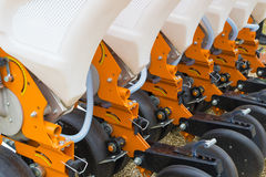 Agricultural machinery, seeder Stock Photos