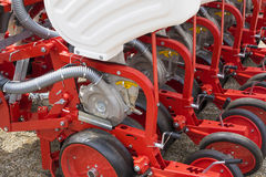 Agricultural machinery, seeder Royalty Free Stock Image