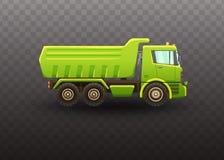 Truck isolated vector illustration on white background. royalty free illustration