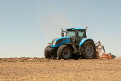Agricultural machinery, work in the field. Stock Photography