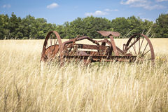 Agricultural machines Royalty Free Stock Photos