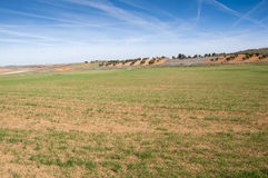 Agricultural mosaic landscape Royalty Free Stock Photography