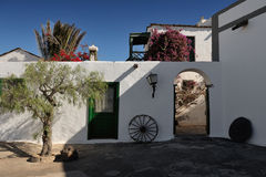 The Agricultural Museum, Tiagua, Lanzarote Island, Canary Island Royalty Free Stock Images