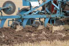 Agricultural Plough. Royalty Free Stock Photos