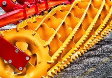 Agricultural plowing device Royalty Free Stock Photo