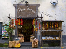 Agricultural Products Store, Sorrento Italy. A quaint little store in Sorrento, southern Italy, a major tourist destination on the Amalfi Coast, that sells royalty free stock image