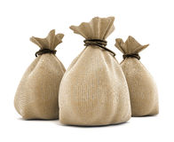 Agricultural sacks Stock Image