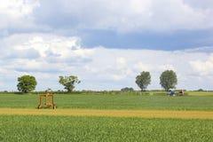 Agricultural scene Stock Photos