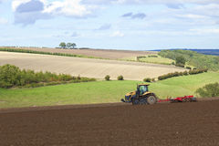 Agricultural scene Royalty Free Stock Photos