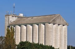 Agricultural silo Royalty Free Stock Photo