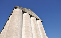 Agricultural silo Stock Photo