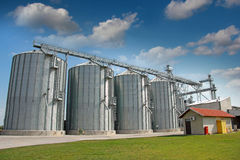 Agricultural Silo - Building Exterior Stock Photography