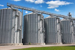 Agricultural Silo - Building Exterior Stock Image
