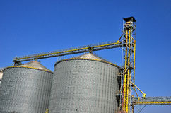 Agricultural Silo - Building Exterior Royalty Free Stock Image