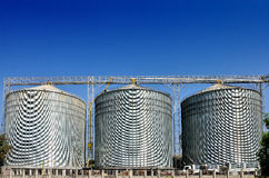 Agricultural Silo - Building Exterior Royalty Free Stock Images