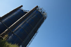 Agricultural Silo. Stock Photo