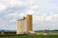 Agricultural silo in France Stock Photography