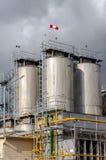 Agricultural silo outdoors Stock Photos