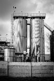 Agricultural silo outdoors Stock Image