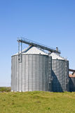 Agricultural silos Royalty Free Stock Photography