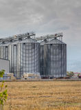 Agricultural silos Royalty Free Stock Image