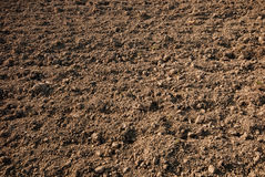 Agricultural soil Stock Photo