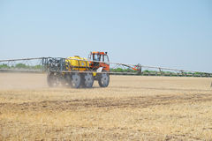 Agricultural sprayer Stock Image