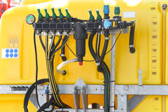 Agricultural sprayer pump Stock Photo