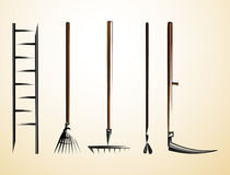 Agricultural tools 2.0 Stock Photos