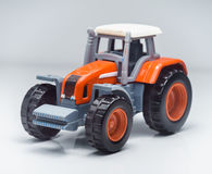Agricultural Toy Tractor Royalty Free Stock Images
