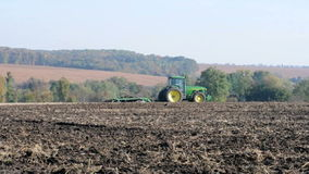 Agricultural tractor stock video