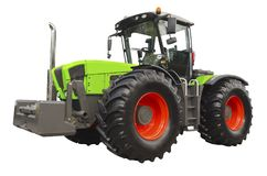 Agricultural tractor Royalty Free Stock Photos