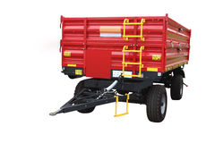 Agricultural trailer Royalty Free Stock Image