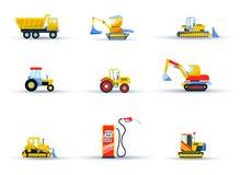 Agricultural transport vector illustration