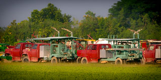 Agricultural Trucks Royalty Free Stock Images