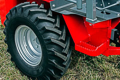 Agricultural Wheel Car Stock Photo