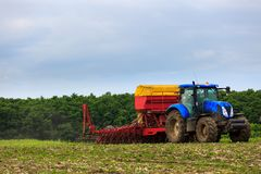 Agricultural work Royalty Free Stock Photos