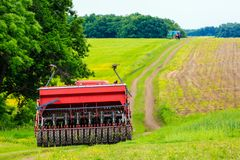 Agricultural work Royalty Free Stock Photography