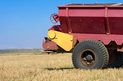 Agricultural works. Royalty Free Stock Image