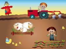 Agriculture illustration libre de droits