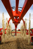 Agriculture. A new agricultural equipment close up Stock Image