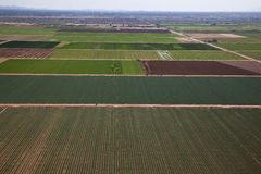 Agriculture Aerial Stock Photography