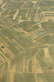 Agriculture, aerial view Royalty Free Stock Images