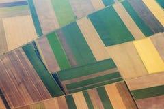 Agriculture aérienne Photographie stock